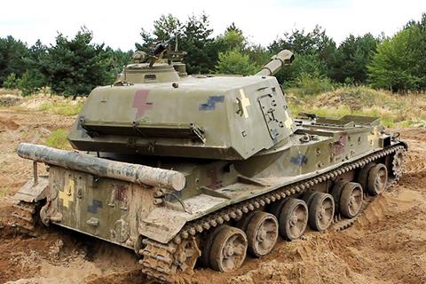 На Чернігівщині розпочались змагання на кращу артилерійську батарею