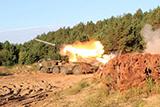 На Чернігівщині артилеристи відпрацювали вогневі завдання