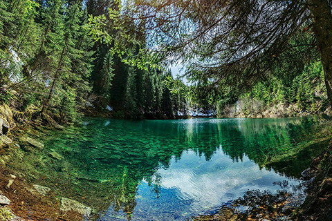 Росохан. Усамітнене озеро у Ґорґанах
