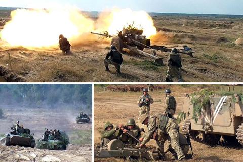 Тренування протитанкового артилерійського дивізіону