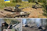 Бригадні тактичні навчання однієї з танкових бригад оперативного командування «Схід»