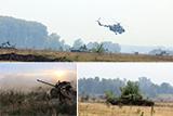 На Чернігівщині відбулись бригадні тактичні навчання з бойовою стрільбою