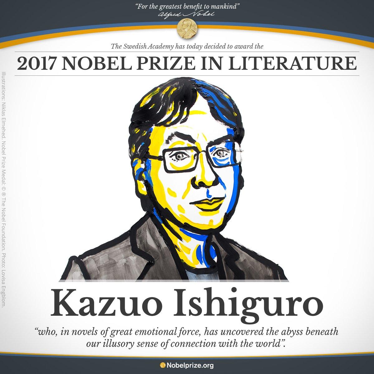 52c89fc6767a fakty.ictv.ua Нобелівську премію з літератури отримав британський  письменник Кадзуо Ішіґуро