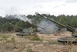На Чернігівщині пройшов переший день змагань першості Сухопутних військ на кращу артилерійську батарею
