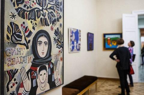 У Києві відкрилася виставка художника Івана-Валентина Задорожного