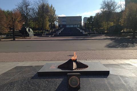 Вулиці Луганська сьогодні