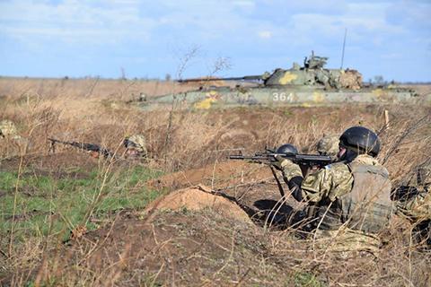 93 окрема механізована бригада відпрацьовує дії в обороні та у наступі