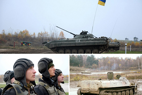 Вишкіл майбутніх офіцерів українського війська