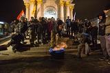 Мітинг на річницю Революції Гідності в Києві