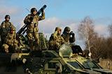 На Яворівському полігоні тривають навчання 1 батальйону 92-ї ОМБр