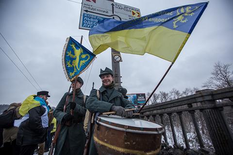Активісти об'єднали береги Дніпра ланцюгом Соборності