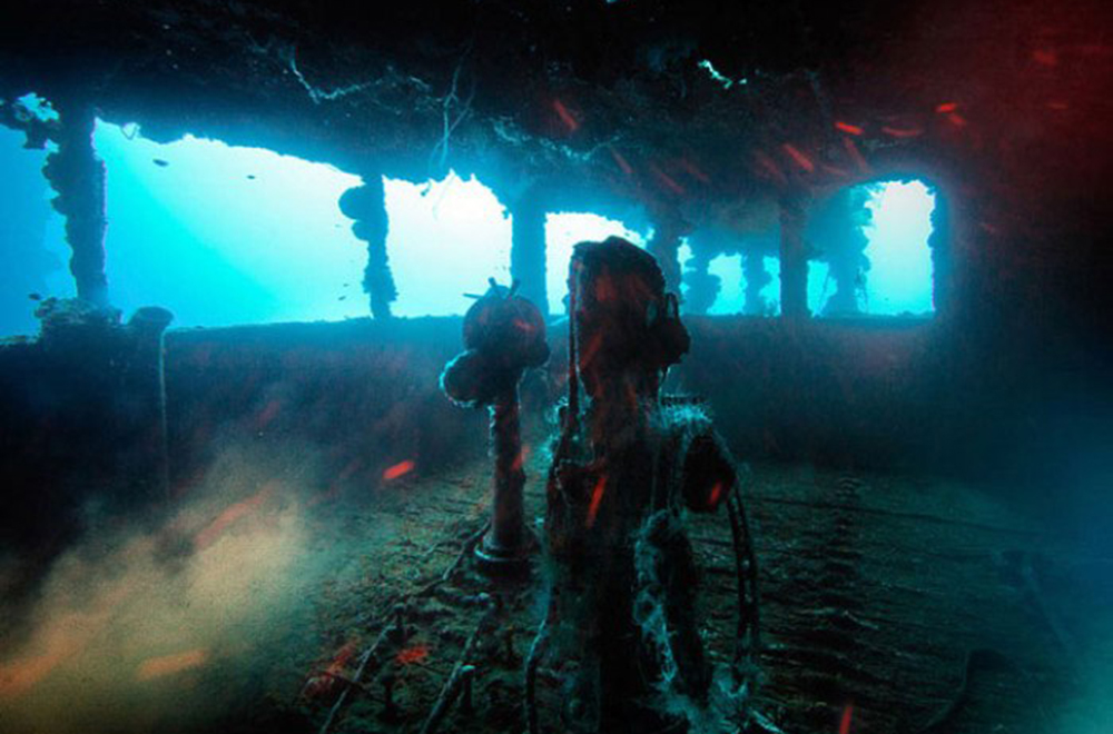 Острови Трук — Лагуна загиблих кораблів