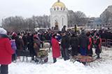 """Луганськ. Лютий 2018. Масляна, """"сталінтінки"""" і червоні прапори"""