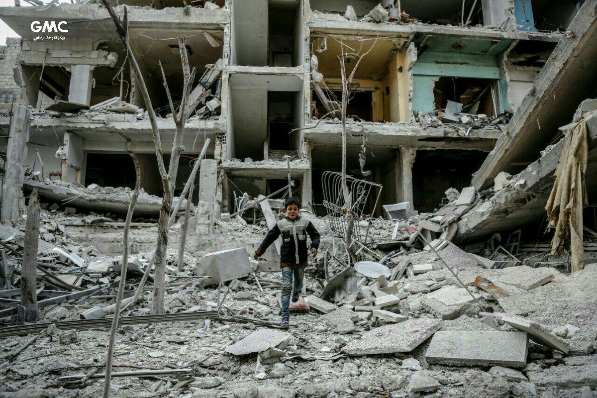 Впродовж 19-20 лютого 2018 року підконтрольний повстанцям сирійський регіон  Східна Гута ... b7e050bc8d3