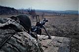 На Донеччині завершився перший етап змагань на «Кращий розрахунок кулемета ДШК»