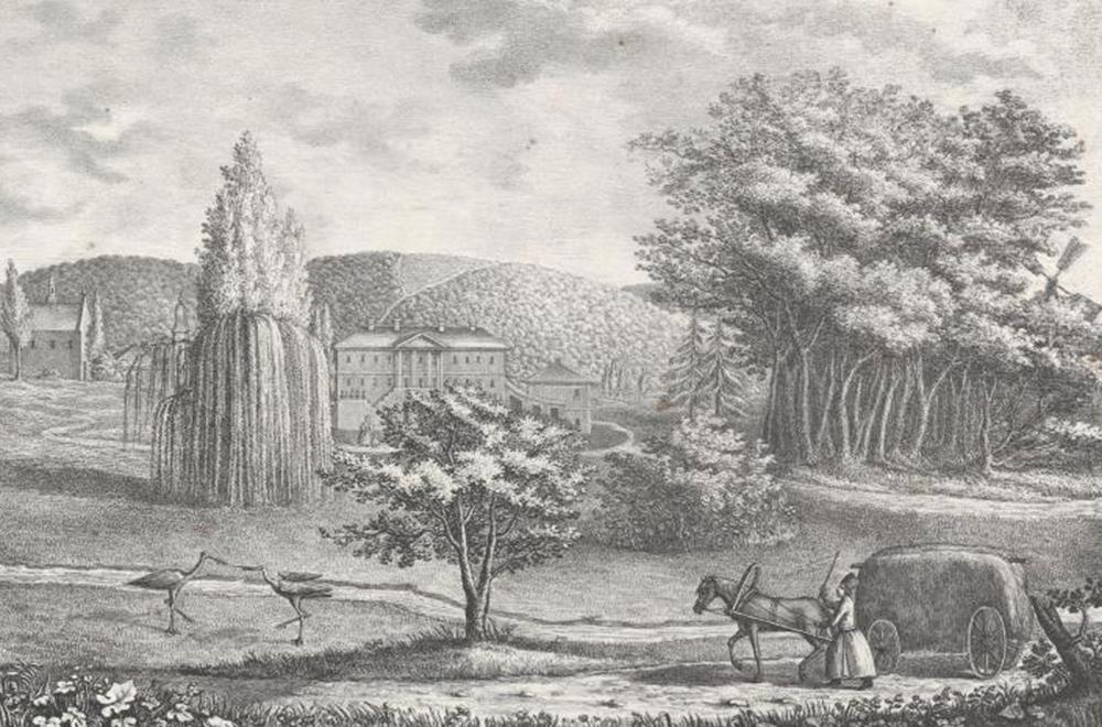 Невідомі зображення маєтків Західної України з Австрійського архіву
