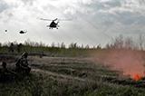 Резервісти-десантники відточують свої бойові навички по знищенню ворога