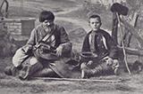 Українці на невідомих фото барона де Бая. 1897 рік