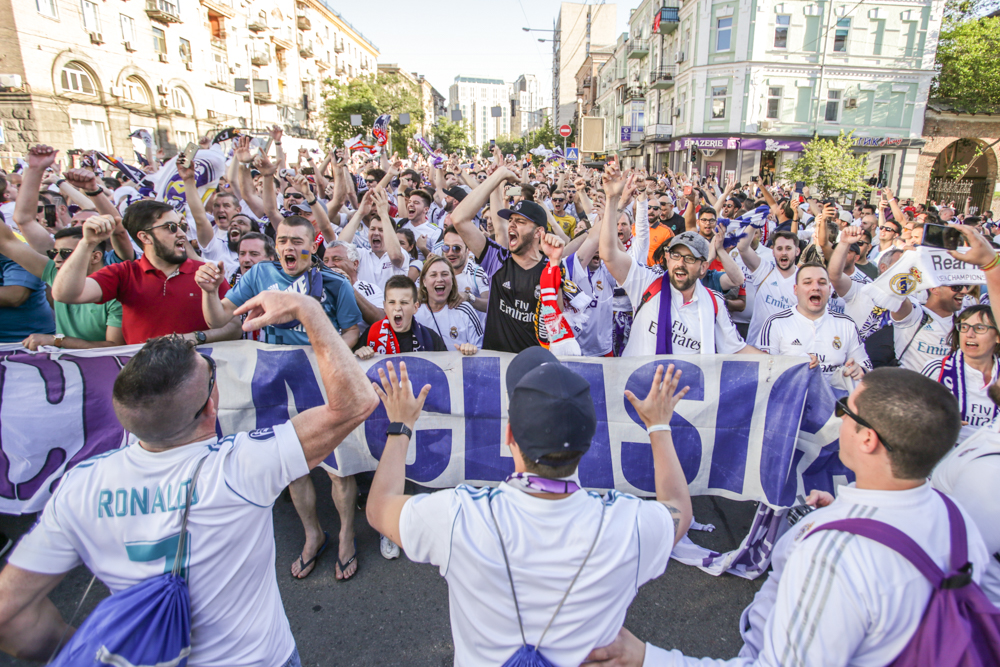 Фанатський фінал Ліги чемпіонів у Києві