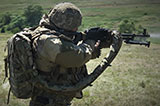 Тренування кулеметних розрахунків 93-ї ОМБр
