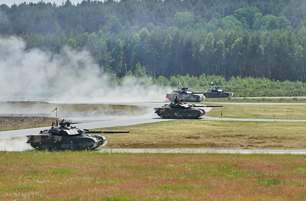 Tank Challenge 2018. Танковий взвод у наступі
