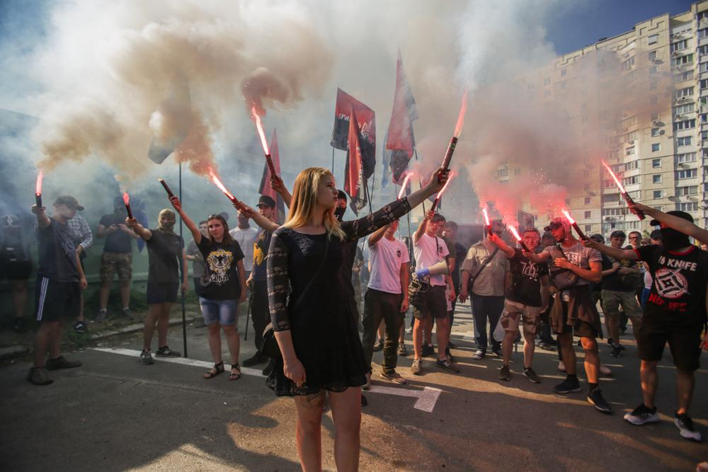 У Києві націоналісти вимагали відставки Зозулі
