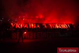 """""""Сенцов, Україна з тобою"""". На Олімпійському запалили фаєри на підтримку політв'язнів"""