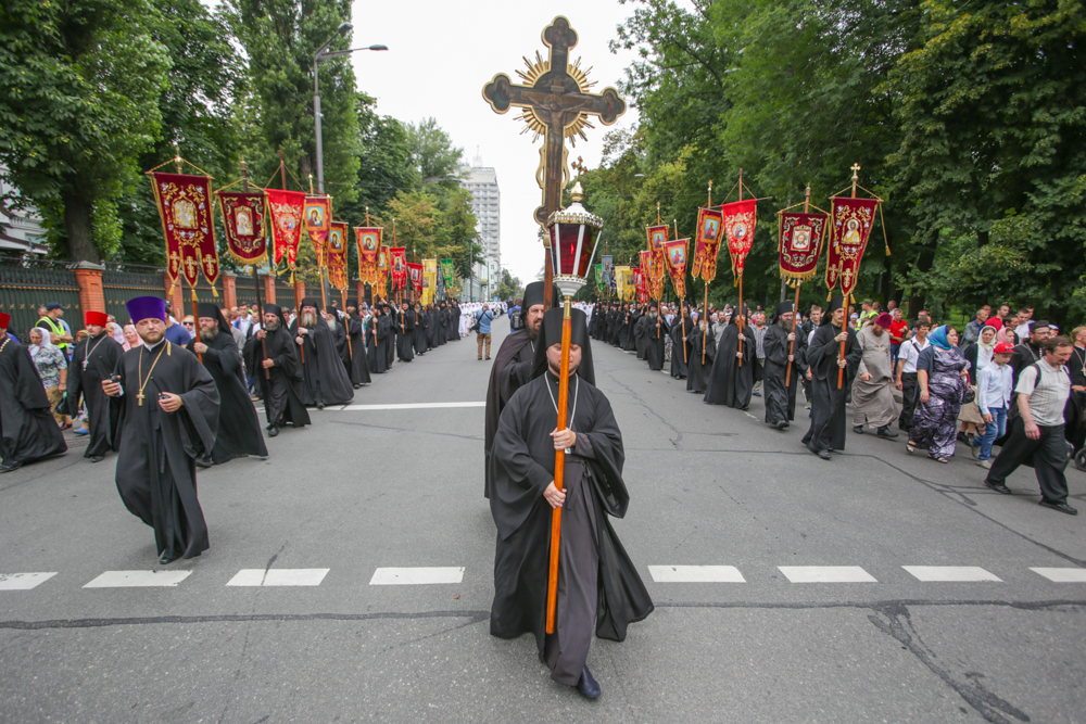 Хресна хода УПЦ МП в Києві