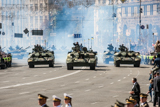 Independence Day military parade in Kyiv