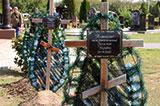 Російські солдати на українських кладовищах