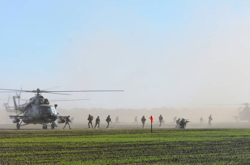 """""""Козацька воля – 2018"""": відбиття атаки з морського узбережжя та рейдові дії"""