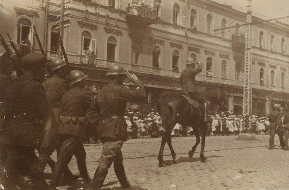 Україна на фото часів польсько-радянської війни 1920