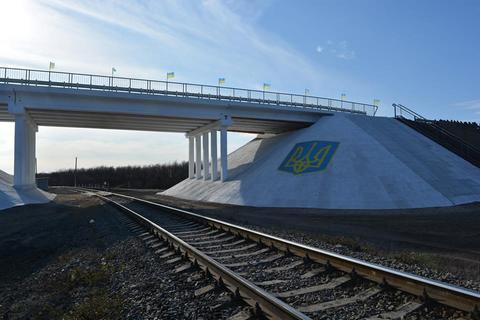На Луганщині відкрили міст, який бойовики зруйнували в 2014 році