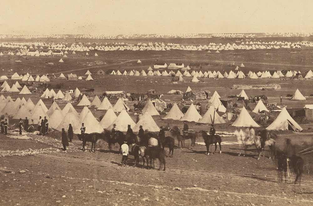 Балаклава. Кримська війна. Фото 1855 року