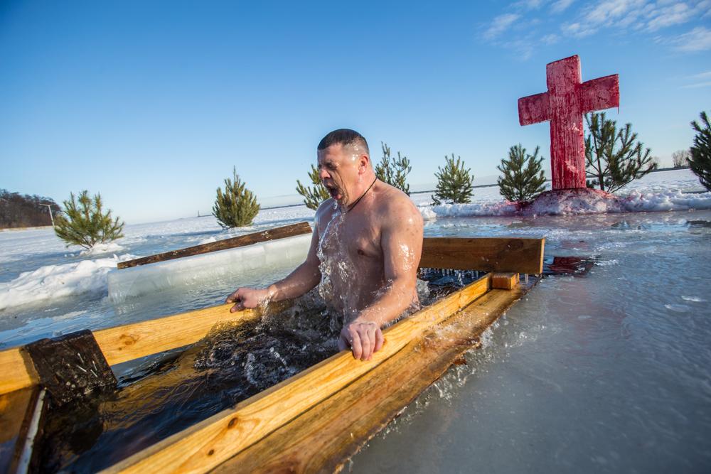 Водохресні купання у Києві