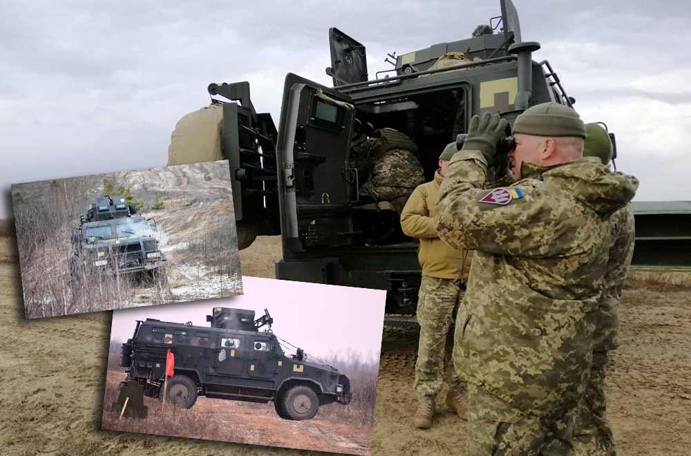 Українські десантники провели випробування перспективного зразка вітчизняної бронетехніки