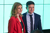 ЗеКорпоратив: день виборів у штабі переможця першого туру