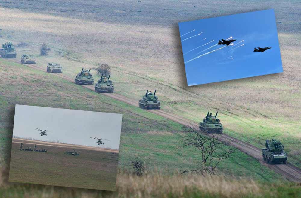 В Операція об'єднаних сил відбулись широкомасштабні навчання з протиповітряної оборони