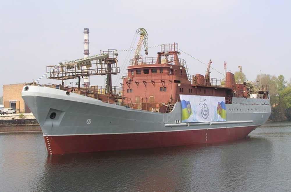 ВМС України поповнилися новим кораблем