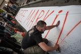 """""""Свободу Марківу!"""" Протест проти суду над українським військовим в Італії"""
