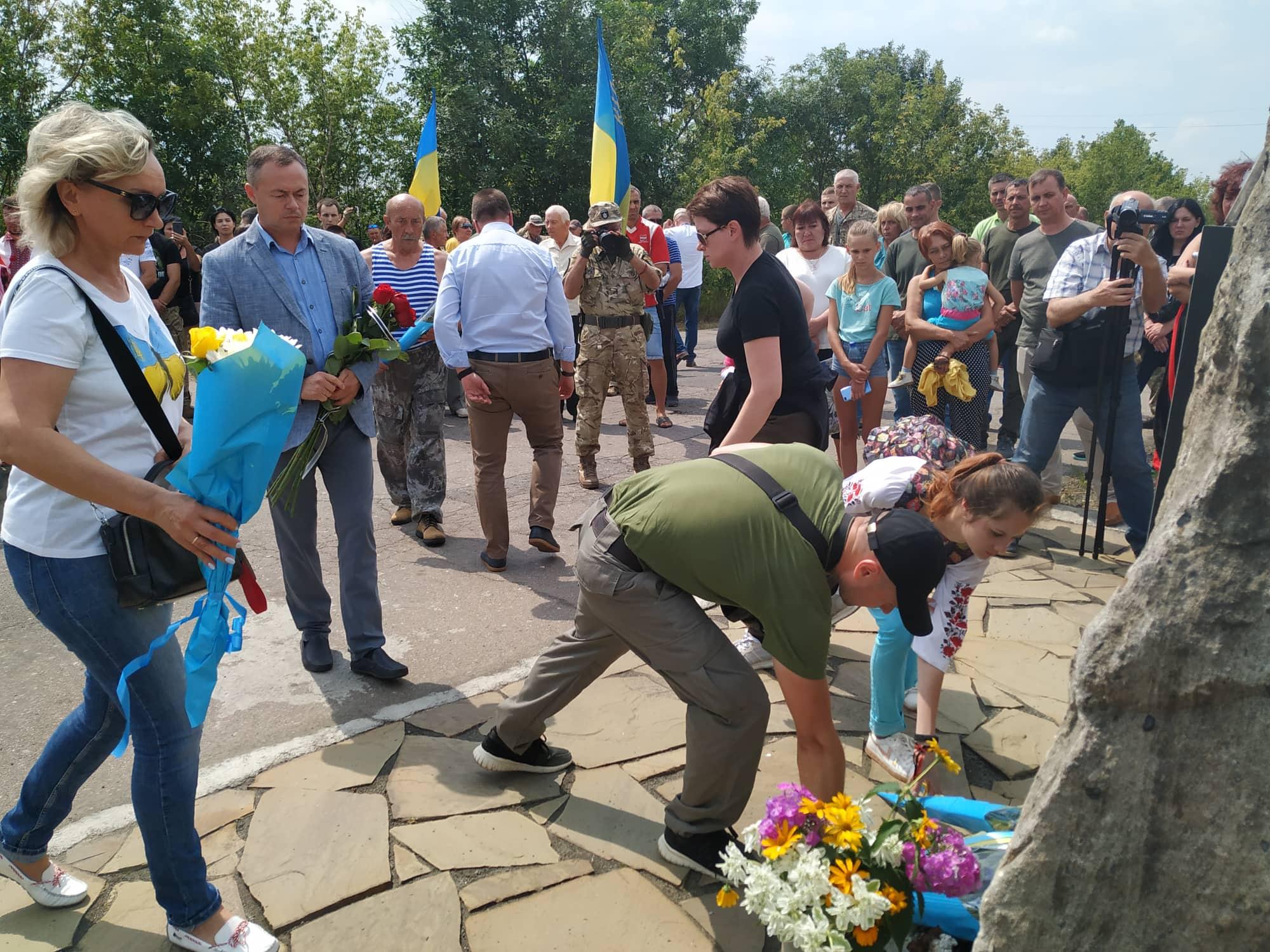 На Донеччині відсвяткували 5-річчя визволення Пісків від бойовиків