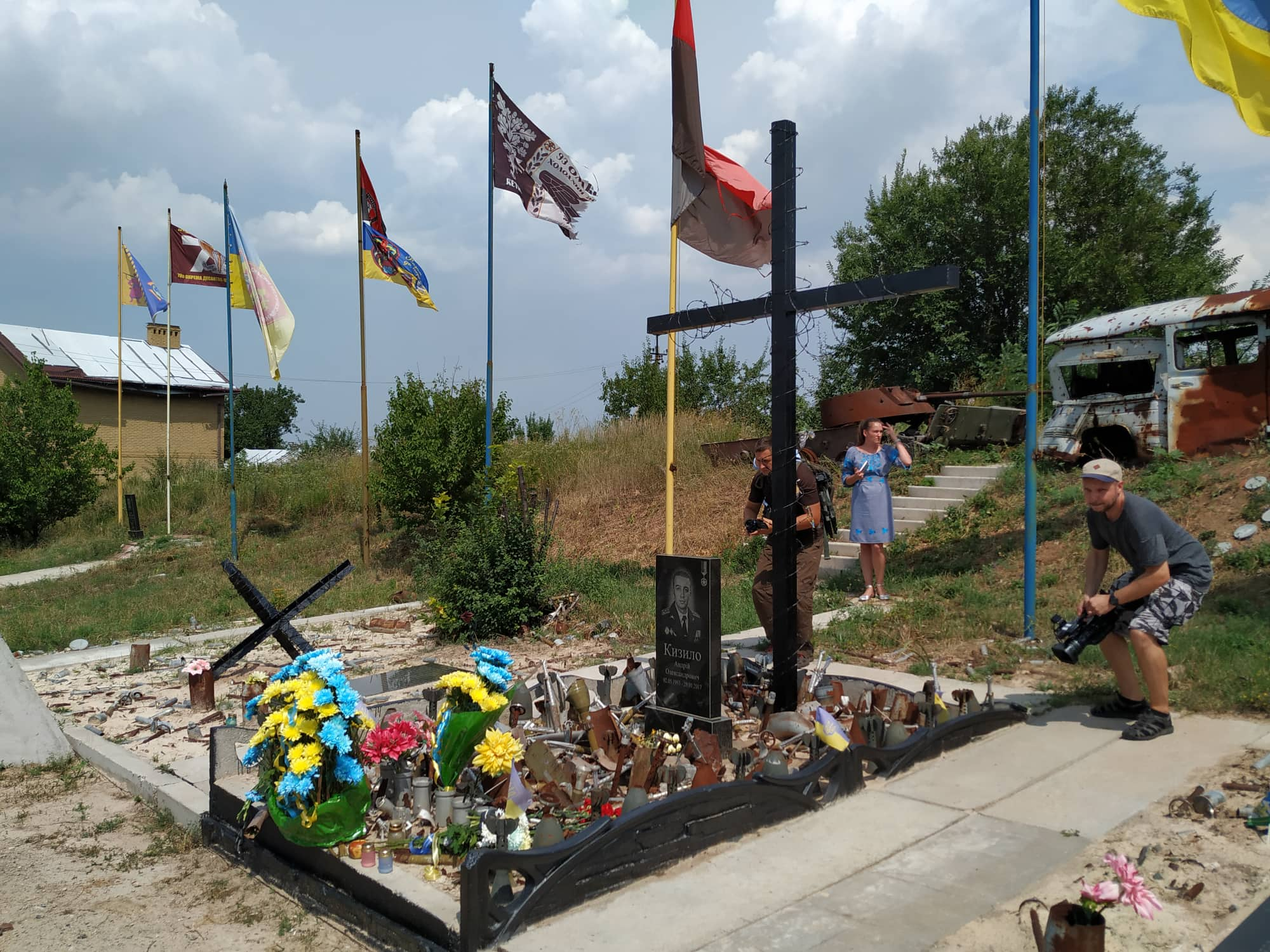 В Авдіївці відбулися урочистості з нагоди 5-ої річниці визволення від російських окупантів