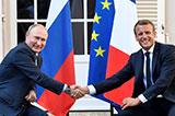Діалог Макрона і Путіна: крок вперед і два назад