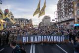 У Києві на Покрову пройшов 10-тисячний марш проти капітуляції