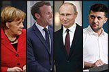 Уперше за три роки. Усе, що відомо про зустріч лідерів країн «нормандської четвірки»