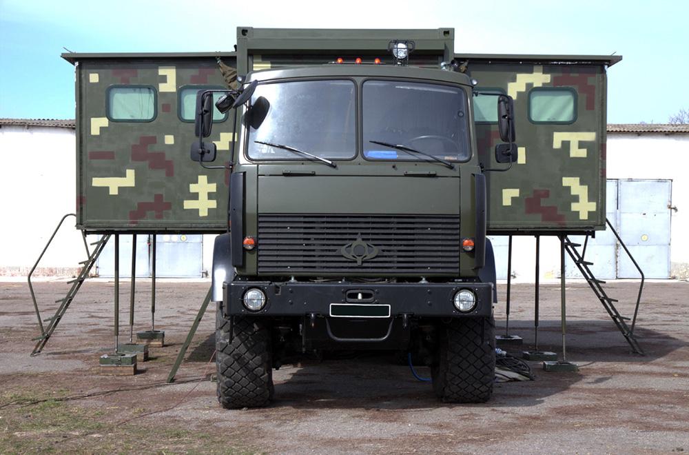 В Україні створили сучасний командно-штабний трансформер