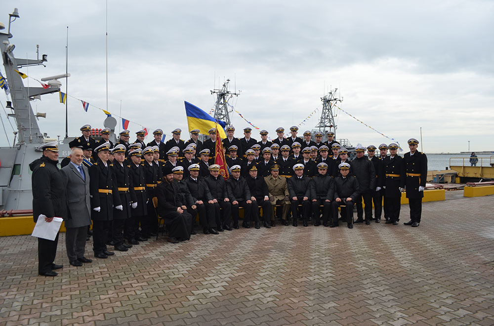 Перший воєнний випуск офіцерів флоту