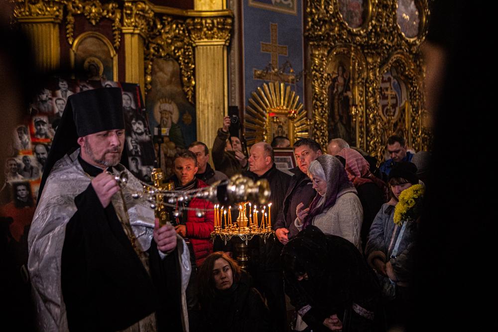Панахида за Небесною Сотнею в Михайлівському соборі