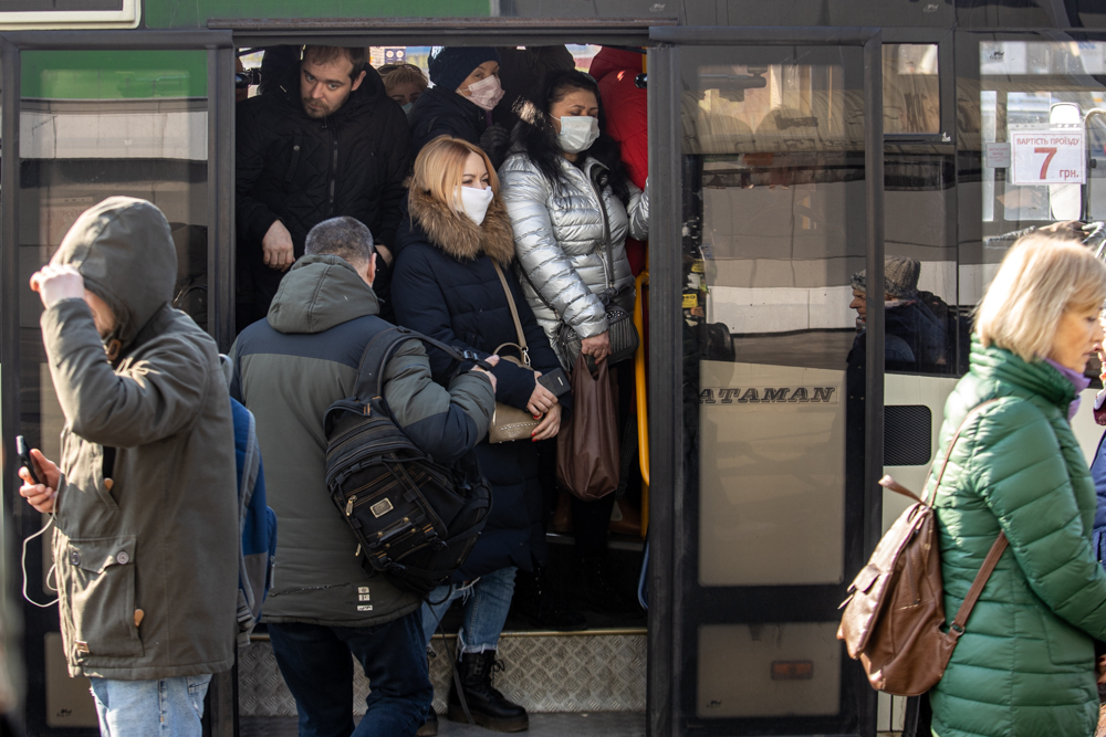 Карантин. Київ без метро