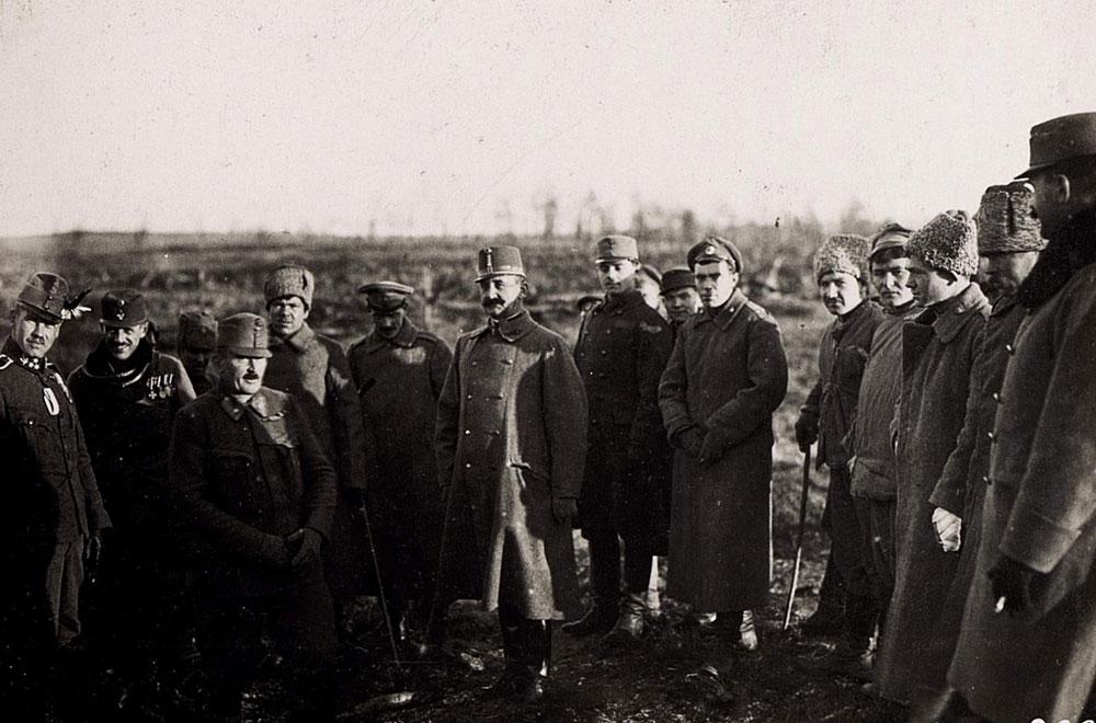 Перемир'я на Волині. 1917 рік. Історичні фото